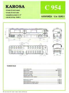 Karosa C 954 / C 955 / Récreo