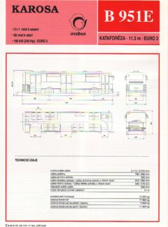 Karosa B 952E / B 951E / B 961E