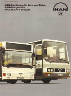 MAN-Omnibusse für Linie und Reise