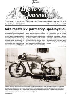 Motor Journal 02/2021