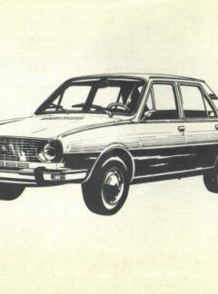 Návod k obsluze a údržbě Škoda 105-120