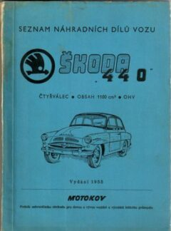 Seznam náhradních dílů vozu Škoda 440