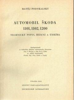Automobil Škoda 1101, 1102, 1200