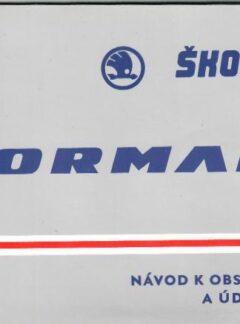 Návod k obsluze a údržbě Škoda Forman