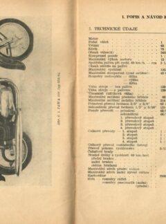 Motocykl Jawa 250 ccm typ 353/04, 350 ccm typ 354/04
