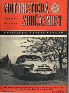 Motoristická současnost 1956 číslo 2