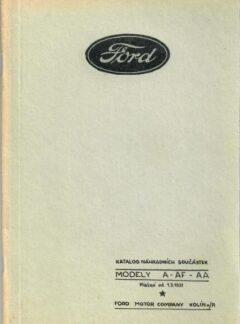 Ford katalog náhradních součástek