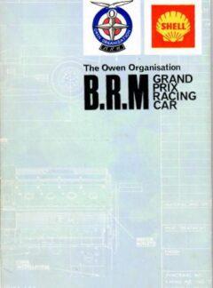 The Owen Organisation B.R.M Grand Prix Racing Car