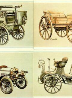 Naše automobily 1885 – 1917