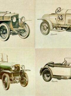 Čs. závodní a sportovní automobily 1900 – 1950