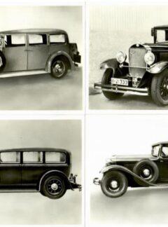 Historische Kraftfahrzeuge – Grosse Repräsentative Pkw
