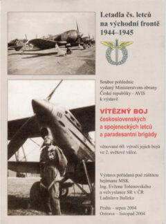 Letadla čs. letců na východní frontě 1944-1945