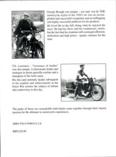 Legends in Their Lifetime – George Brough & Lawrence of Arabia